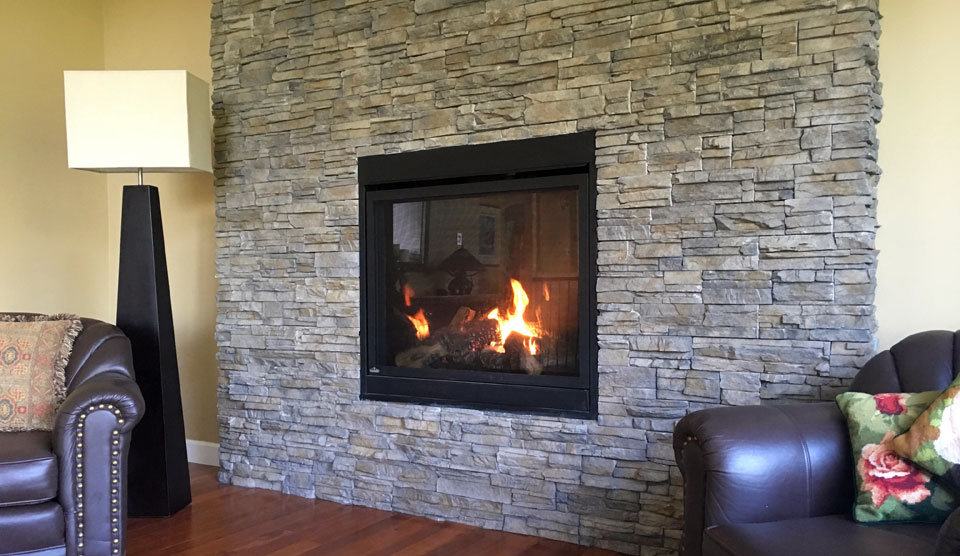 Fireplace Makeover by A Stone's Throw Masonry In Nanaimo