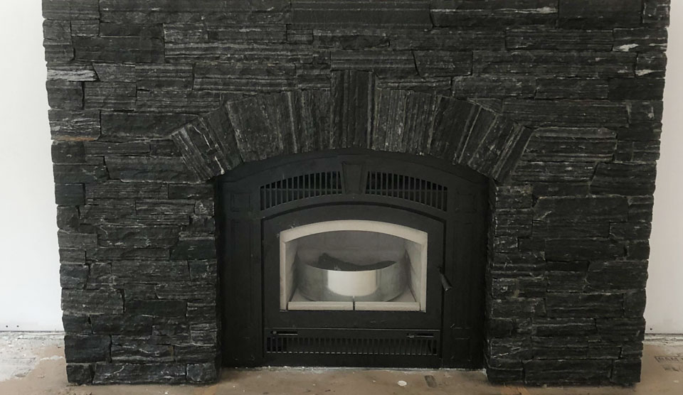 Natural Stone Fireplace by A Stone's Throw Masonry In Nanaimo